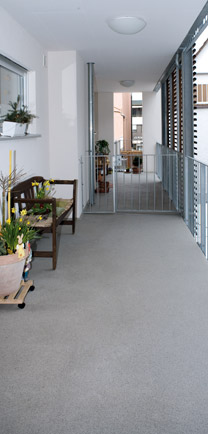 Architectural Flooring Choices For Veranda.