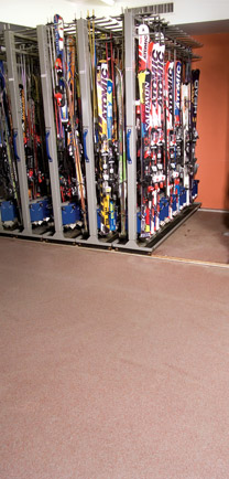 Ski Shop With MMA Resin Flooring.
