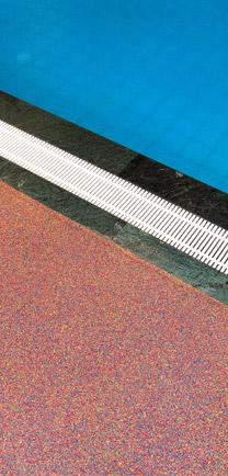 Eco Waterproof Flooring Around A Pool.