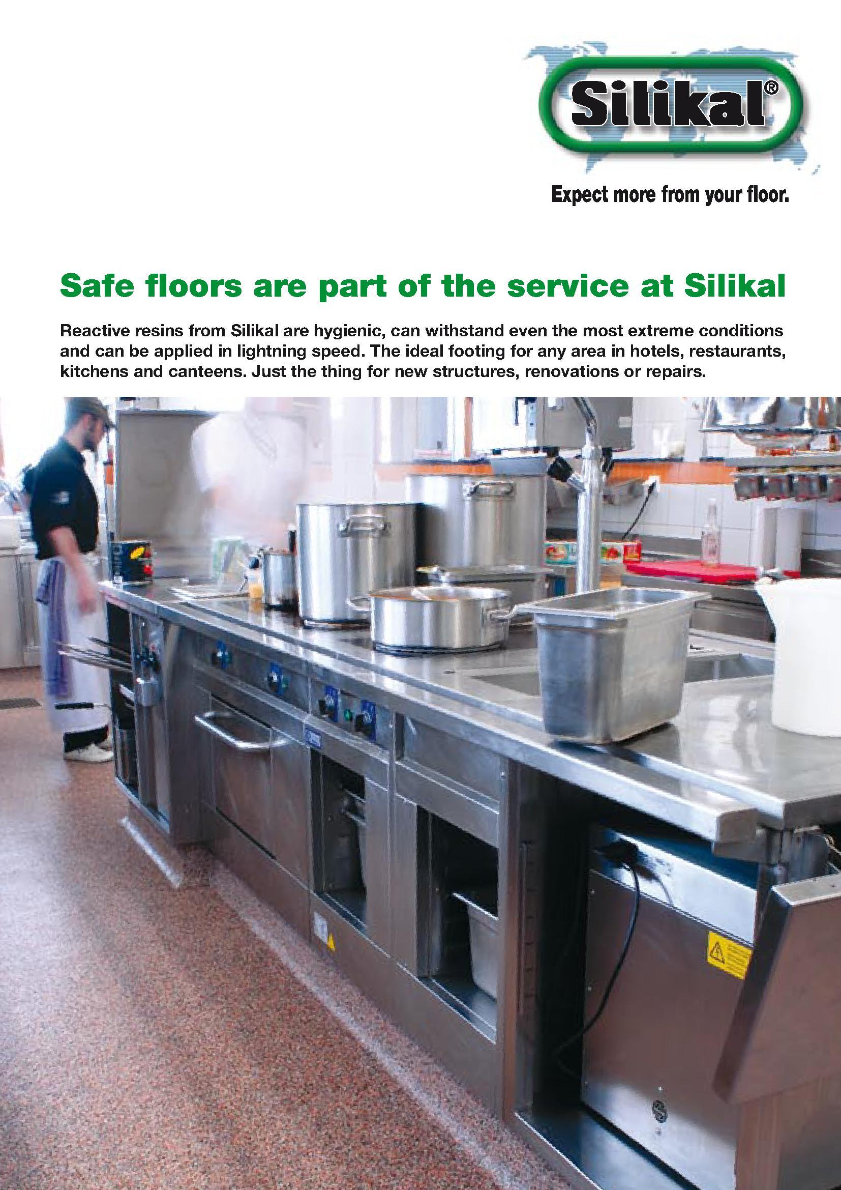 silikal flooring kitchens