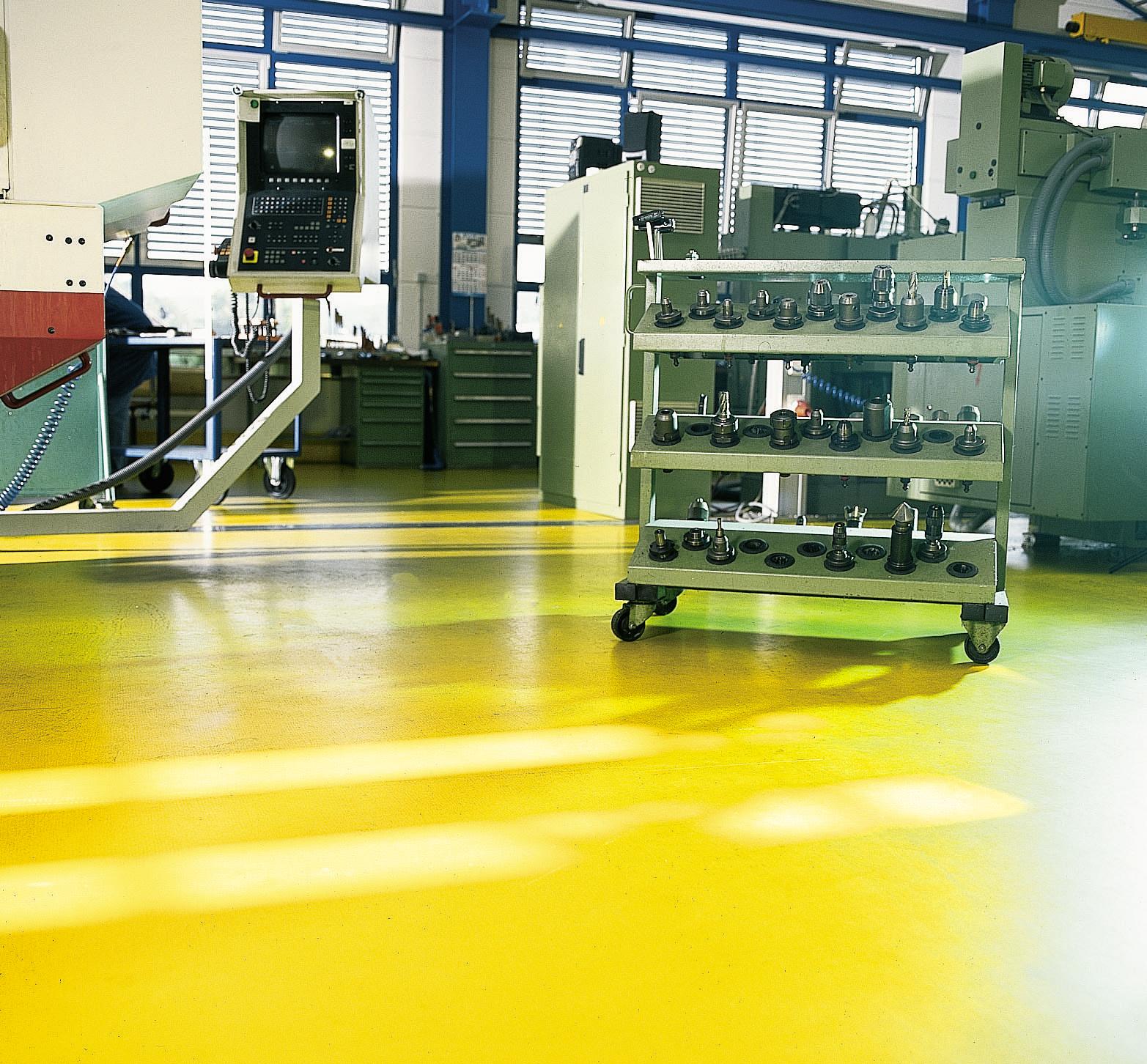 Anti Static Flooring : Anti static flooring floors that prevent silikal