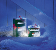Flooring products covered in frost display freezer protection in cold environments.