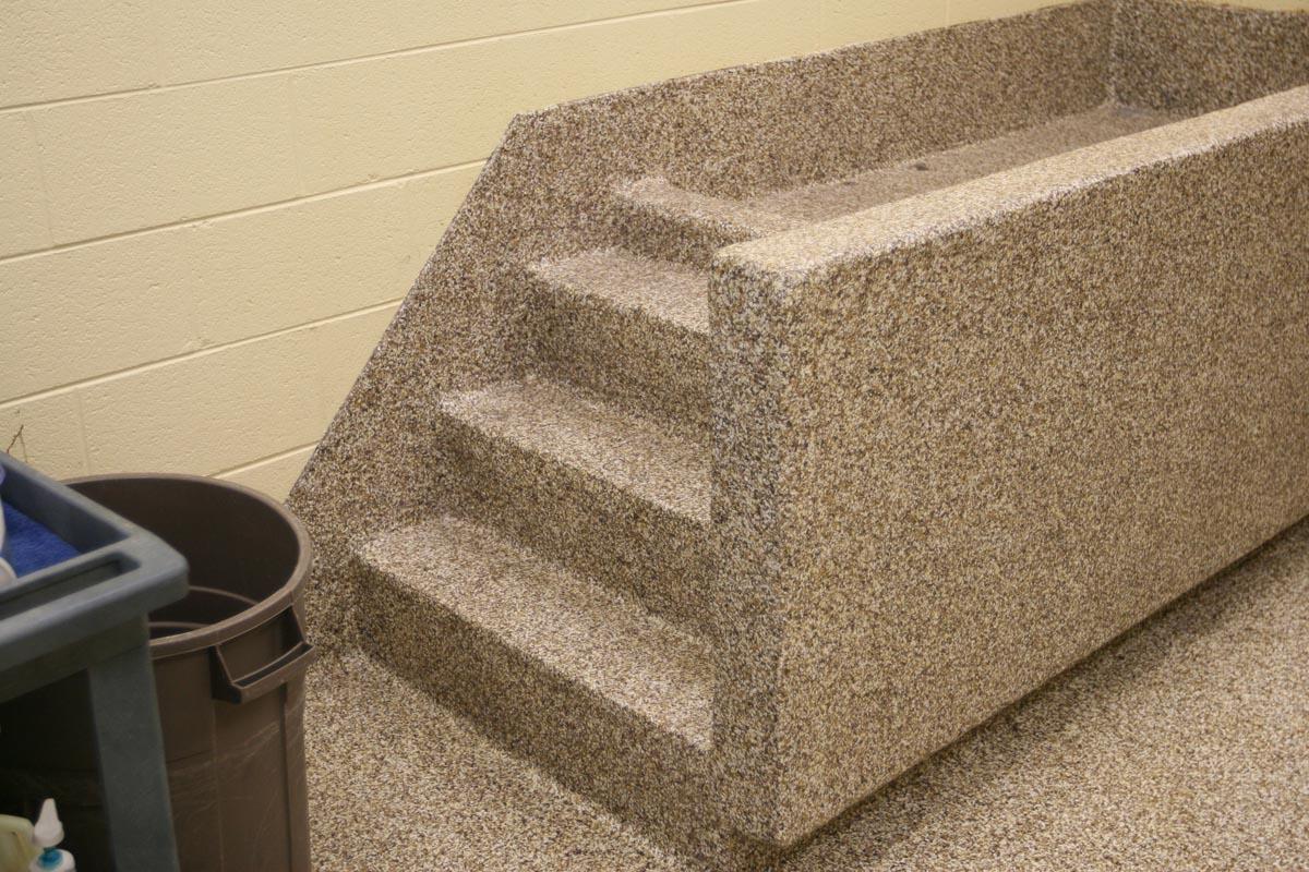 grooming area flooring | floorings for dog groom areas